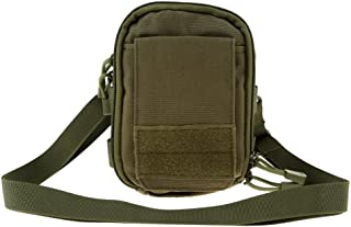 MagiDeal Sports Travel Molle Waist Bag Belt Pouch Pack with Cell Phone Holder 18 x 14 x 5cm