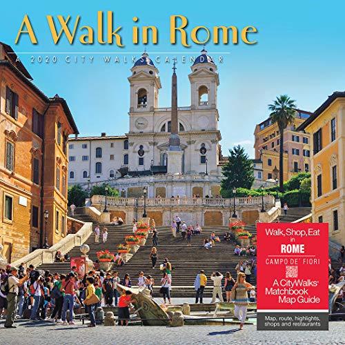 A Walk in Rome 2020 Wall Calendar