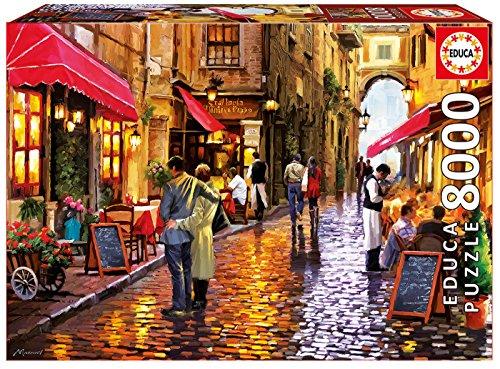 Educa Borrás - Puzzle Cafe Street