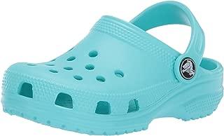 Crocs Kids' Classic Clog, pool, 1 M US Little Kid