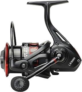 LLIIAYUK Carrete de Pesca Carretes de Gran Capacidad Equipo de Metal Rueda de Pesca Fuerza de Descarga de 5 kg Rueda de caída de agua-3000