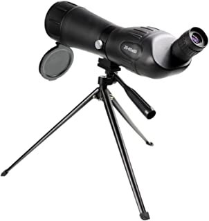 Baner Tech 20-60x 60mm Zoom Angled Spotting Scope Monocular Telescope with Tripod for Bird Watching Hunting Shooting