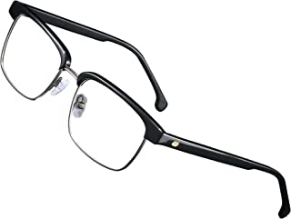 UNIEOWFA Square Prescription Eyewear Frames Men Retro Rivet Glasses Frame Optical Acetate Eyeglasses