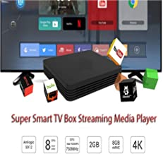 $50 » #1 Recommended Big World Super Smart Android 10.0 TV Box Streaming Device Resolution:4K HD - HDR Streaming Media Player, Easy Remote, Premium HDMI Cable Released 2020 Better Than Any TV Box.
