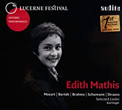 Edith Mathis chante des lieder de Mozart, Brahms, Schumann Engel.