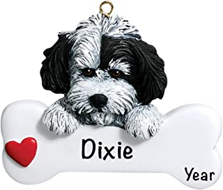 Havanese Personalized Ornament - (Unique Christmas Tree Ornament - Classic Decor for A Holiday Party - Custom Decorations for Family Kids Baby Military Sports Or Pets)