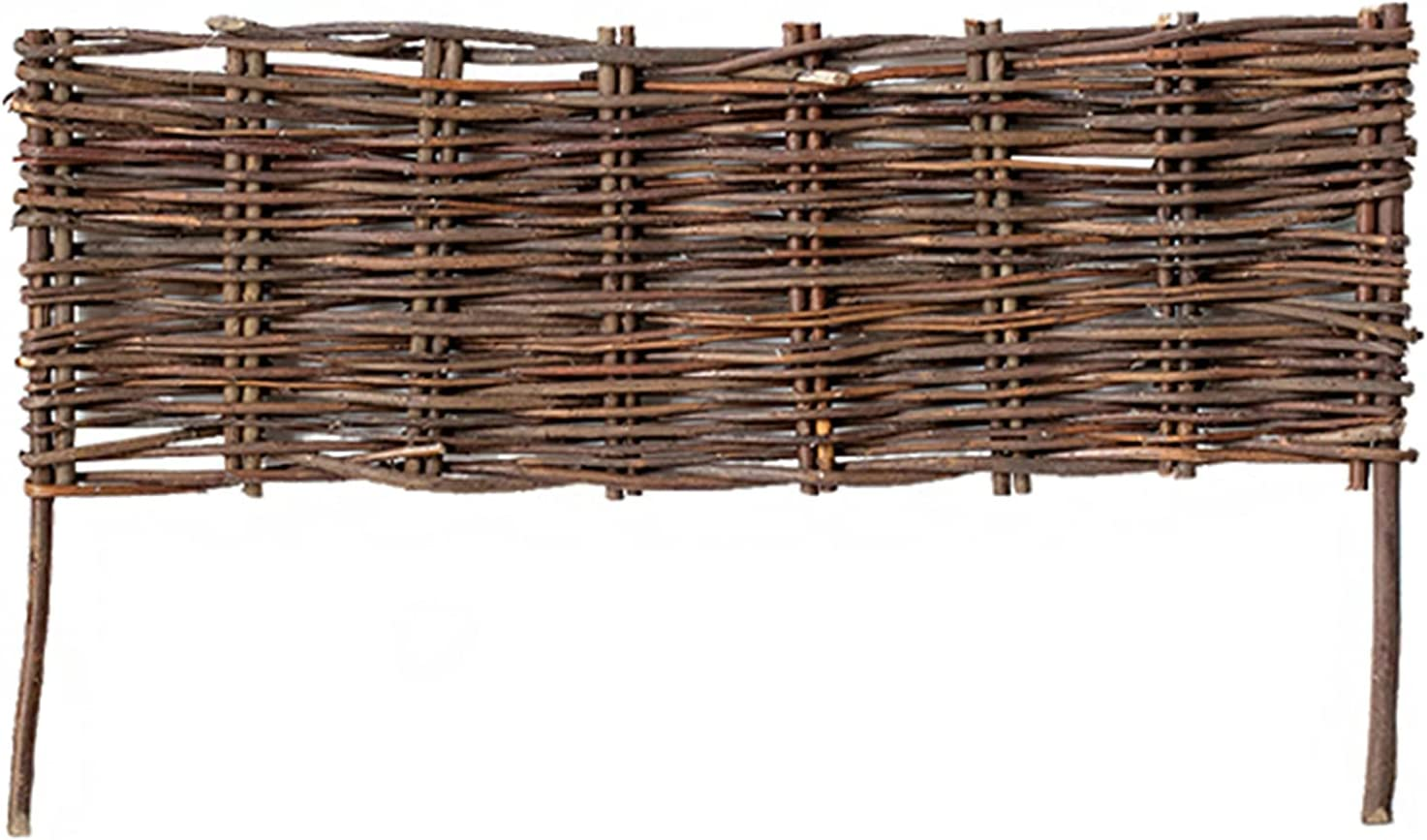 NBSY High order Wicker Woven Fences ×4 Fence Fl Small Wood 2021new shipping free shipping Garden