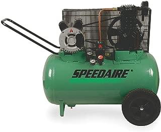 Speedaire 20 HP, 115/230VAC, 20 gal Portable Electric Barrel Air Compressor, 135 psi - 1NNF6