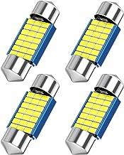 31mm DE3175 LED Festoon Bulbs, Canbus Error Free 3021 DE3022 DE3023 Bulbs White, 21SMD 3014 Chipsets for Car Interior Dome Map Trunk Light,1.22 inches 31mm Festoon Bulbs, 4pcs
