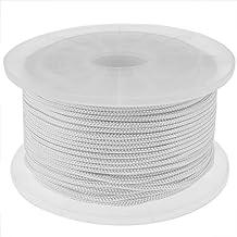 PrimeMatik - Nylon gevlochten touw 100 m x 3 mm wit