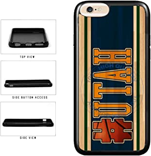 BleuReign(TM) Basketball Team Hashtag Utah #Utah TPU RUBBER SILICONE Phone Case Back Cover For Apple iPhone 6 Plus and iPhone 6s Plus (5.5 Inches Screen)