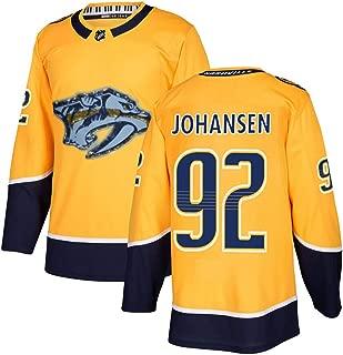 Men's Nashville Predators #92 Yellow RyanJohansen Limited Stitch Jersey