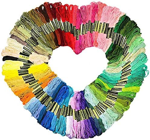 50 Skeins Multi-Colored Embroidery Floss We OFFer at cheap prices Color Embroider Rainbow Memphis Mall