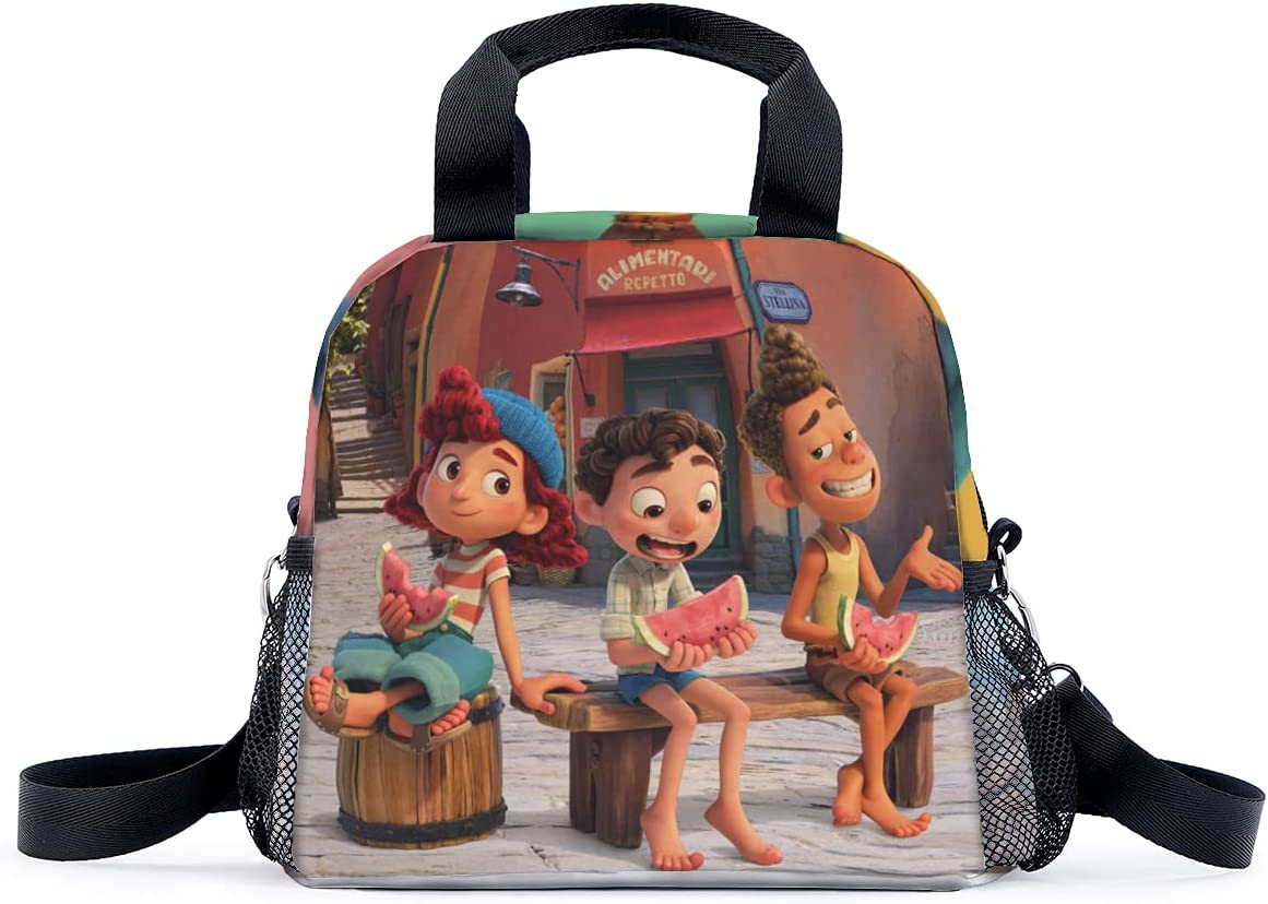 Alberto Sea Monster CARTOON Lunch Bag Tote Bag Lunch Bag for children Lunch Box Insulated Lunch Container for child,picnic