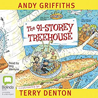 The 91-Storey Treehouse     The Treehouse Books, Book 7              By:                                                                                                                                 Andy Griffiths                               Narrated by:                                                                                                                                 Stig Wemyss                      Length: 2 hrs and 1 min     46 ratings     Overall 4.5