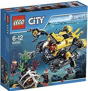 LEGO (LEGO) City seabed submarine 60092