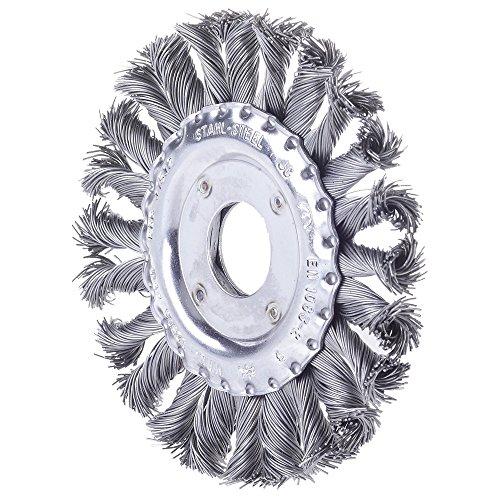 Forum brosse ronde acier inoxydable 4317784861328 178 mm
