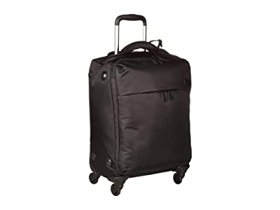 Lipault Paris Original Plume 22 Spinner Carry On (Black 1) Carry on Luggage