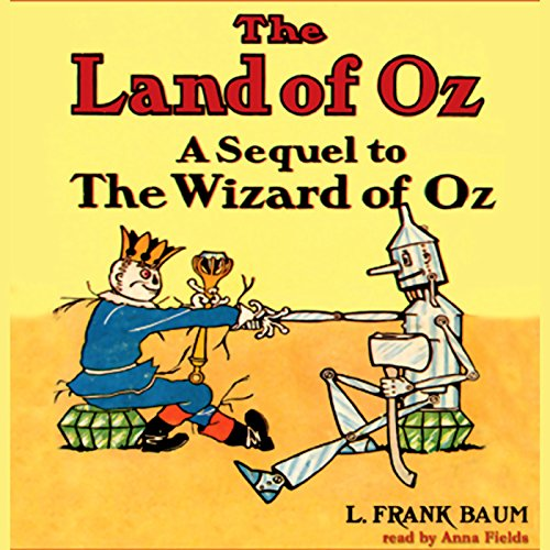 The Land of Oz audiobook cover art