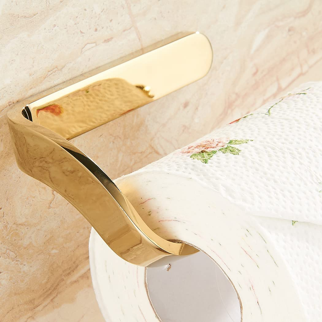 Enuo Polished Zinc Alloy Toilet PVD Paper Pl Holder Multi-Layer Max 87% OFF Max 63% OFF