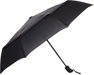 AmazonBasics Automatic Travel Umbrella, Black