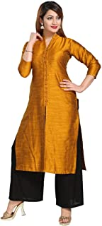 Women's Silk Straight Kurti for All Plus Size and Small Size
