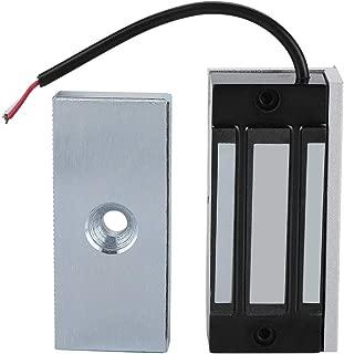 Cerraduras de puerta magnéticas eléctricas de una sola puerta 24V Cerradura electromagnética 60KG (132LB) Fuerza de retención para la seguridad del hogar
