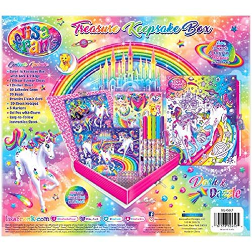 Lisa Frank Treasure Keepsake Box - Unicorn - Dash and Dazzle