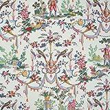 Textiles français Baumwollstoff - Toile de Jouy Stoff   La