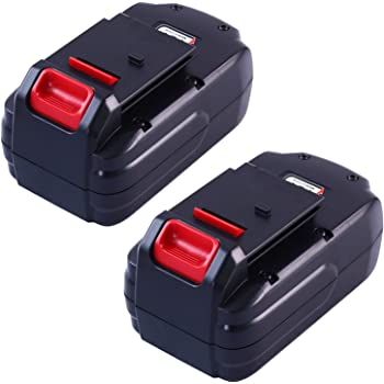 2Packs PC18B for Porter Cable 18V Battery 3.6Ah Ni-MH Battery Replacement PCC489N PCMVC PCXMVC