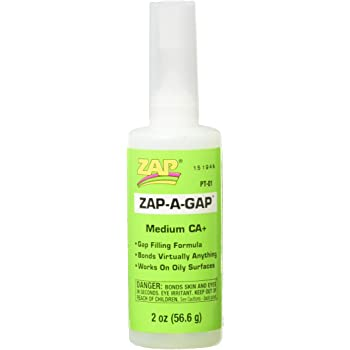 Pacer Technology (Zap) Zap-A-Gap Adhesives, 2 oz