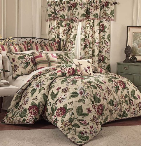 Waverly 4-Piece Laurel Springs Comforter Set, King
