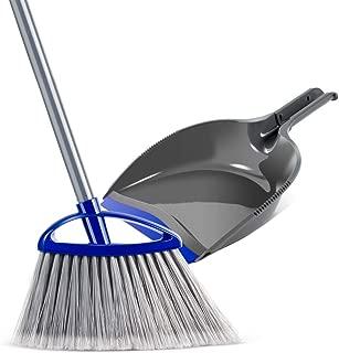 Mastertop Easy Angle Bristles Broom and Handhold Dustpan Set Handhold Dustpan for Floor Sweep Set