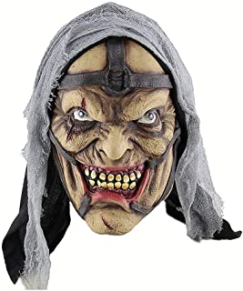 Wangqianli Halloween Horror Sorceress Pokemon Man Mask Latex Ghost Mask Headgear Mask