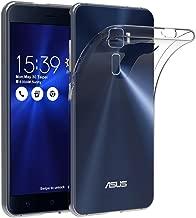 iVoler Cover Compatibile con ASUS Zenfone 3 ZE520KL 5.2 Pollici, Silicone Case Molle di TPU Trasparente Sottile Custodia