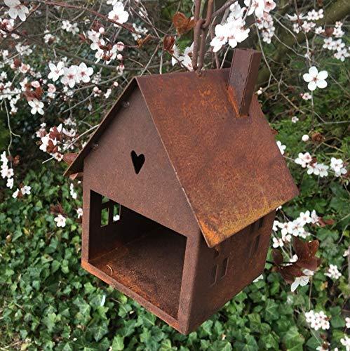 villa-lilla Edelrost * Vogelhaus zum Hängen *
