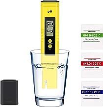 متر سنج دیجیتال KWODE ، تستر کیفیت آب با دامنه اندازه گیری 0-14 PH ATC 0.01 PH دقت بالا برای نوشیدن خانگی ، آب استخر و آکواریوم