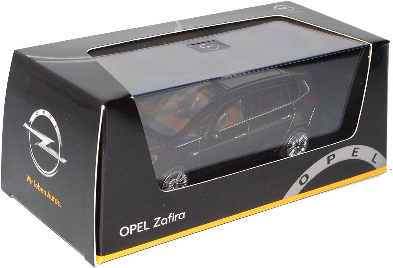 Opel Zafira Tourer C Ab 2012 Mahogany Braun Schwarz 1 43 Ist Ixo Modell Auto Mit Individiuellem Wunschkennzeichen Spielzeug