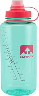 Nathan Sports Water Bottle, BPA Free Water Bottle, 32oz Water Bottle, 32oz/ 1Liter