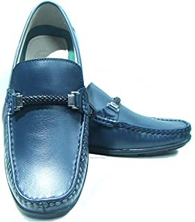 ASM Handmade Genuine Leather Moccasins Loafers with Buckle for Men | Men's Loafers