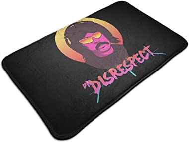 Violence Speed Momentum Gaming Dr. Disrespect Doormat Outdoor Indoor Rubber Thin Non Slip Carpets for Front Door Kitchen Bedr