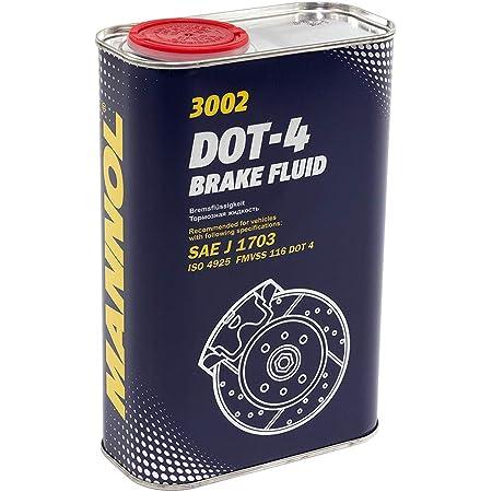 Mannol Bremsflüssigkeit Dot 4 Brake Fluid 1l 8941 Auto