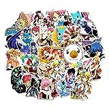 SGOT Anime Aufkleber, One Piece Stickers, Wasserdicht Vinyl Sailor Moon Stickers, Anime Decals für...