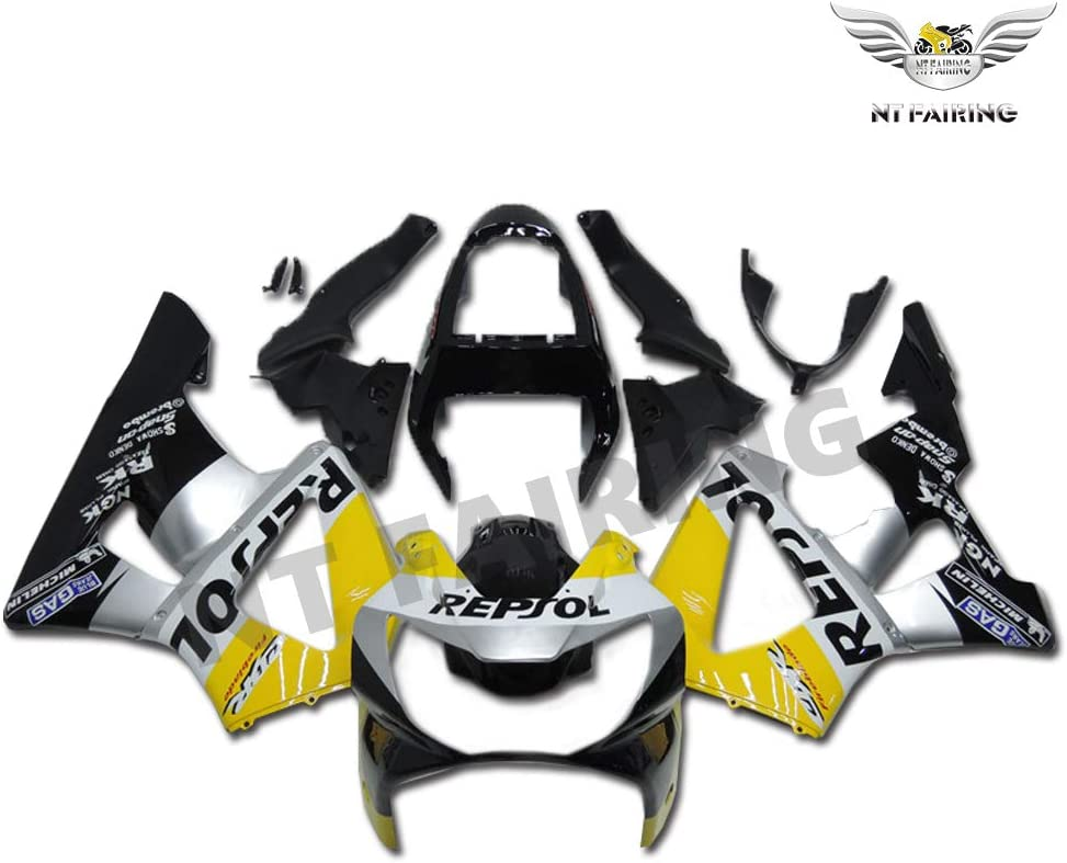 New Yellow Silver Black Fairing Fit CBR929RR Japan Maker HONDA 40% OFF Cheap Sale 2000 for 2001
