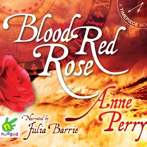 Blood Red Rose audiobook cover art