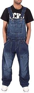 Jeans Mens Dungarees Denim Bib Overalls Dungarees Overalls Adjustable Straps