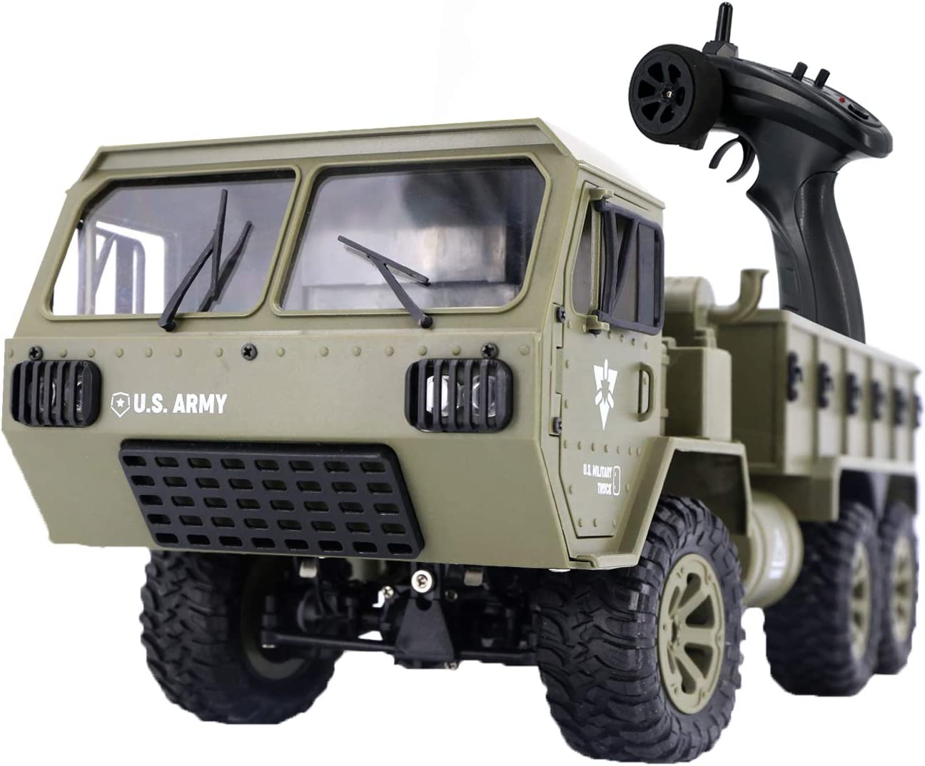 RC 2021new shipping free Army Car The perseids Military Truck 1:16 2.4G Scale Wholesale 6WD