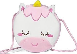 Czemo Borsetta per Bambini Borsa Tracolla Ragazze Borsetta da Principessa di Peluche Giocattoli per Bambina (Unicorno)