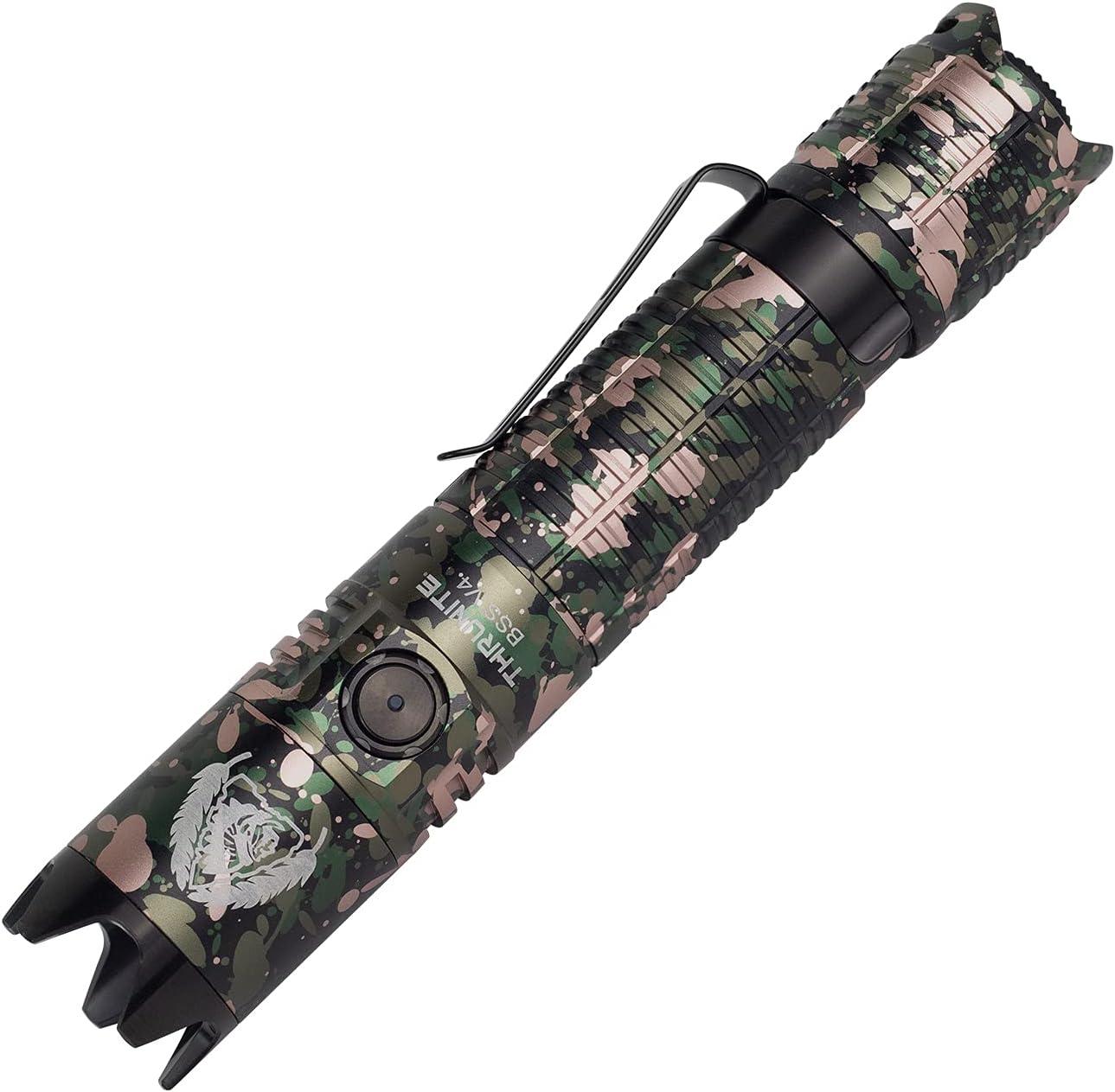 THRUNITE 毎日がバーゲンセール BSS V4 Flashlight Customized Survival Scout Black Editi 毎日続々入荷