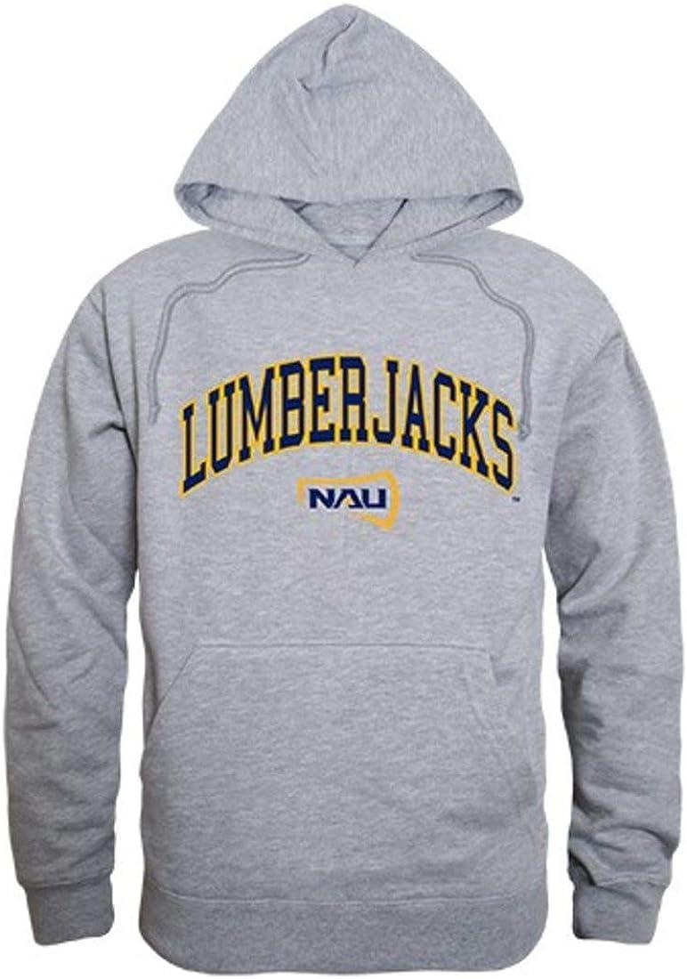 Northern Arizona University Lumberjacks Campus Hoodie Sweatshirt Heather Grey